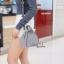 กระเป๋าสะพายแฟชั่น กระเป๋าสะพายข้างผู้หญิง กระเป๋าสะพายข้าง ฟักทอง [สีเทา] thumbnail 2