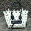 กระเป๋าสะพายแฟชั่น กระเป๋าสะพายข้างผู้หญิง Celine Pyramid [สีขาว] thumbnail 5