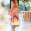 กระเป๋าสะพายแฟชั่น กระเป๋าสะพายข้างผู้หญิง The BOX 24 CM [สีชมพู] thumbnail 3