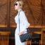 กระเป๋าสะพายแฟชั่น กระเป๋าสะพายข้างผู้หญิง CN RAINBOW 10 Inch [สีดำ] thumbnail 2