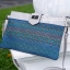 กระเป๋าครัช กระเป๋าถือ สายสะพาย วินเทจ(คลัทช์ปักลายวินเทจ) [สีเทา] thumbnail 3