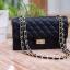 กระเป๋าสะพายแฟชั่น กระเป๋าสะพายข้างผู้หญิง CN classic [สีดำ] thumbnail 4