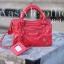 กระเป๋าสะพายแฟชั่น กระเป๋าสะพายข้างผู้หญิง City mini bag [สีแดง] thumbnail 4