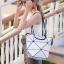 กระเป๋าสะพายแฟชั่น กระเป๋าสะพายข้างผู้หญิง pyramid [สีขาว] thumbnail 2
