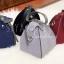 กระเป๋าสะพายแฟชั่น กระเป๋าสะพายข้างผู้หญิง กระเป๋าสะพายข้าง ฟักทอง [สีเทา] thumbnail 4