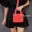 กระเป๋าสะพายแฟชั่น กระเป๋าสะพายข้างผู้หญิง Mini Lady Bag [สีแดง] thumbnail 2