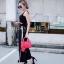 กระเป๋าสะพายแฟชั่น กระเป๋าสะพายข้างผู้หญิง City mini bag [สีแดง] thumbnail 2