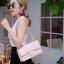 กระเป๋าสะพายแฟชั่น กระเป๋าสะพายข้างผู้หญิง CN classic [สีชมพู]