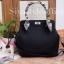 กระเป๋าสะพายแฟชั่น กระเป๋าสะพายข้างผู้หญิง The BOX [สีดำ]