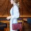 กระเป๋าสะพายแฟชั่น กระเป๋าสะพายข้างผู้หญิง CN RAINBOW 10 Inch [สีแดง] thumbnail 2