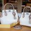 กระเป๋าสะพายแฟชั่น กระเป๋าสะพายข้างผู้หญิง The BOX 24 CM [สีครีม] thumbnail 3
