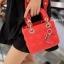 กระเป๋าสะพายแฟชั่น กระเป๋าสะพายข้างผู้หญิง Mini Lady Bag [สีแดง] thumbnail 3