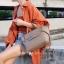 กระเป๋าสะพายแฟชั่น กระเป๋าสะพายข้างผู้หญิง Belt Bag [สีกากี]