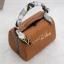 กระเป๋าสะพายแฟชั่น กระเป๋าสะพายข้างผู้หญิง กระเป๋าสะพายข้าง BOX [สีดำ] thumbnail 3