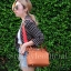 กระเป๋าสะพายแฟชั่น กระเป๋าสะพายข้างผู้หญิง The BOX [สีส้ม] thumbnail 3