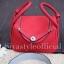 กระเป๋าสะพายแฟชั่น กระเป๋าสะพายข้างผู้หญิง Lindy 26 cm [สีแดง] thumbnail 5
