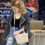 กระเป๋าสะพายแฟชั่น กระเป๋าสะพายข้างผู้หญิง ซีลีนคลาสสิค (CELINE CLASSIC) อะไหล่ทอง [สีดำ] thumbnail 1