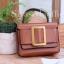 กระเป๋าสะพายแฟชั่น กระเป๋าสะพายข้างผู้หญิง BOYY Mini [สีดำ] thumbnail 2