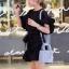 กระเป๋าสะพายแฟชั่น กระเป๋าสะพายข้างผู้หญิง Mini Lady Bag [สีดำ] thumbnail 2