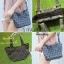 กระเป๋าสะพายแฟชั่น กระเป๋าสะพายข้างผู้หญิง Barel Mini Nologo สีด้าน [สีเทา] thumbnail 5