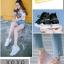 พร้อมส่ง รองเท้าผ้าใบเสริมส้นสีดำ ด้านข้างมี upper ดึงกระชับ แฟชั่นเกาหลี [สีดำ ] thumbnail 2
