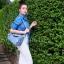 กระเป๋าสะพายแฟชั่น กระเป๋าสะพายข้างผู้หญิง Lindy 26 cm [สีดำ] thumbnail 5