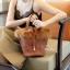 กระเป๋าสะพายแฟชั่น กระเป๋าสะพายข้างผู้หญิง Picotin เฟรอ [สีดำ]