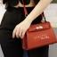 กระเป๋าสะพายแฟชั่น กระเป๋าสะพายข้างผู้หญิง Kelly Toy [สีแดง] thumbnail 2