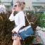 กระเป๋าครัช กระเป๋าถือ สายสะพาย วินเทจ(คลัทช์ปักลายวินเทจ) [สีเทา] thumbnail 2