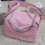 กระเป๋าสะพายแฟชั่น กระเป๋าสะพายข้างผู้หญิง Lindy 26 cm [สีชมพู] thumbnail 4