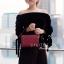 กระเป๋าสะพายแฟชั่น กระเป๋าสะพายข้างผู้หญิง กระเป๋าสะพายข้าง BOX [สีแดง]