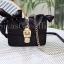 กระเป๋าสะพายแฟชั่น กระเป๋าสะพายข้างผู้หญิง ริบบริ้น [สีดำ] thumbnail 3