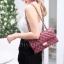 กระเป๋าสะพายแฟชั่น กระเป๋าสะพายข้างผู้หญิง CN classic [สีแดง] thumbnail 2