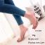 พร้อมส่ง รองเท้าส้นสูงเปิดส้นสีชมพู พียูใสนิ่ม ส้นแก้ว แฟชั่นเกาหลี [สีชมพู ]