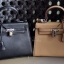 กระเป๋าสะพายแฟชั่น กระเป๋าสะพายข้างผู้หญิง Kelly Pu 25 cm [สีดำ] thumbnail 5
