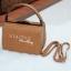 กระเป๋าสะพายแฟชั่น กระเป๋าสะพายข้างผู้หญิง กระเป๋าสะพายข้าง BOX [สีดำ] thumbnail 4
