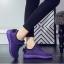 พร้อมส่ง รองเท้าผ้าใบแฟชั่นสีม่วง ผ้ายืด ระบายอากาศได้ดี พื้นนิ่ม แฟชั่นเกาหลี [สีม่วง ] thumbnail 2