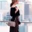 กระเป๋าสะพายแฟชั่น กระเป๋าสะพายข้างผู้หญิง กระเป๋าสะพายข้าง BOX [สีนู๊ด]