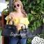 กระเป๋าสะพายแฟชั่น กระเป๋าสะพายข้างผู้หญิง Birkin PU 30 cm [สีดำ] thumbnail 3