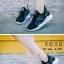 พร้อมส่ง รองเท้าผ้าใบเสริมส้นสีดำ ด้านข้างมี upper ดึงกระชับ แฟชั่นเกาหลี [สีดำ ] thumbnail 4