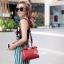 กระเป๋าสะพายแฟชั่น กระเป๋าสะพายข้างผู้หญิง Fendi candy stud [สีแดง] thumbnail 1