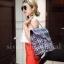 กระเป๋าเป้ผู้หญิง กระเป๋าสะพายหลังแฟชั่น เป้Tweed Bag [] thumbnail 2