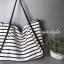 กระเป๋าสะพายแฟชั่น กระเป๋าสะพายข้างผู้หญิง Shopping bag [สีขาว] thumbnail 5