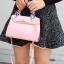 กระเป๋าสะพายแฟชั่น กระเป๋าสะพายข้างผู้หญิง Kelly Toy Mini [สีชมพู] thumbnail 4