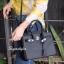 กระเป๋าสะพายแฟชั่น กระเป๋าสะพายข้างผู้หญิง Birkin PU 30 cm [สีดำ] thumbnail 2