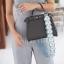 กระเป๋าสะพายแฟชั่น กระเป๋าสะพายข้างผู้หญิง Baby heart [สีเทาเข้ม] thumbnail 5
