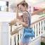 กระเป๋าสะพายแฟชั่น กระเป๋าสะพายข้างผู้หญิง Mini Kelly Pu [สีดำ] thumbnail 1