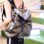 กระเป๋าเป้ผู้หญิง กระเป๋าสะพายหลังแฟชั่น เป้เพชร [สีทอง] thumbnail 2