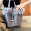 กระเป๋าสะพายแฟชั่น กระเป๋าสะพายข้างผู้หญิง Picotin เฟรอ [สีเทา] thumbnail 2