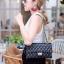 กระเป๋าสะพายแฟชั่น กระเป๋าสะพายข้างผู้หญิง CN classic [สีดำ] thumbnail 1